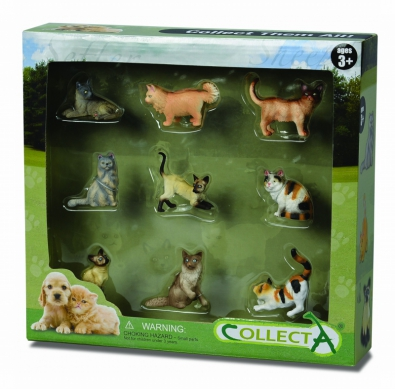 9 pcs Cats  & Dogs Boxed Set - 89553