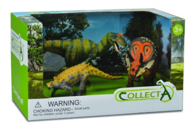 3 pcs Prehistoric Life Open Boxed Set - 89559
