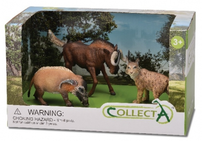 3 pcs Wild Life Open Boxed Set  - 89568