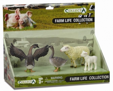 4 pcs Farm Life Set