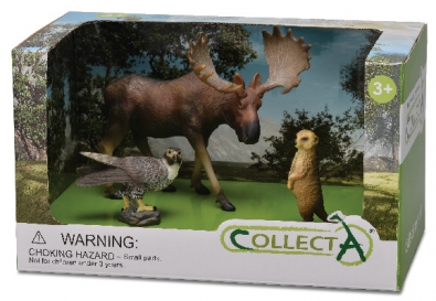 3pcs Wild Life Open Boxed Set - 89573