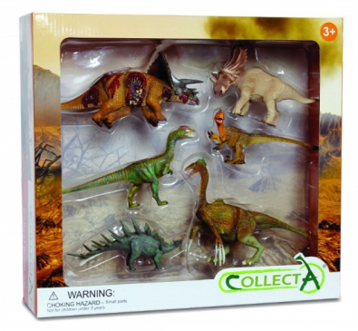 6pcs Prehistoric Life Boxed Set - 89574