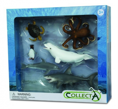 6pcs Sea Life Boxed Set  - 89575