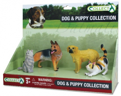 4pcs Cats & Dogs Platform - box-sets