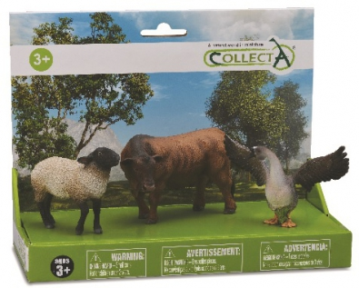 3 pcs Farm Life  Set - 89668