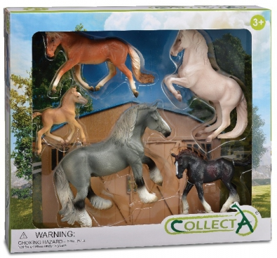 5 pcs Horse Life Boxed Set - 89670