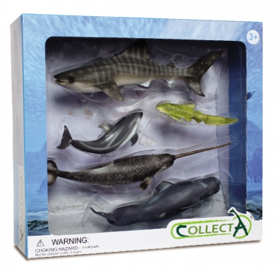 5 pcs Sea Life Set