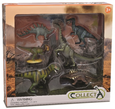 6 pcs Prehistoric Life Boxed Set - 89672