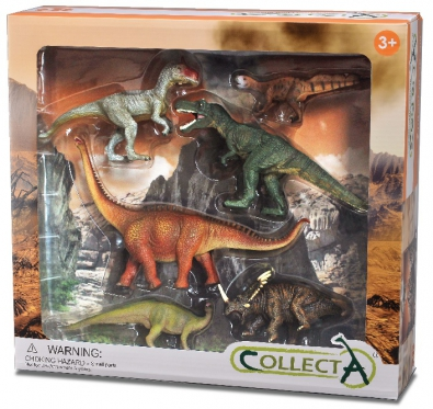 6 pcs Prehistoric Life Boxed Set - 89673