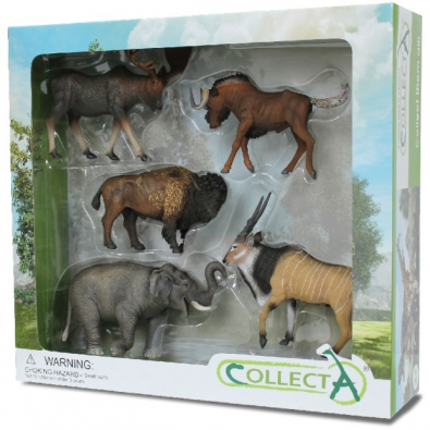 5 pcs Wild Life Boxed Set - 89674