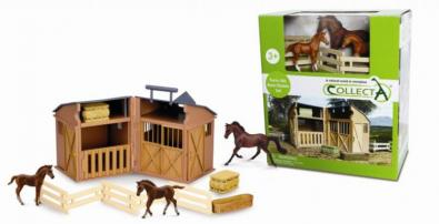 Stable Playset With Animals & Accessories - 89695