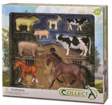 8 pcs Farm Life Boxed Set - 89696