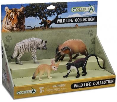4pcs Wild Life Set