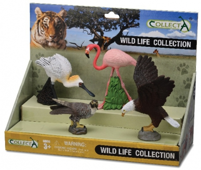 4pcs Wild Life Set - box-sets