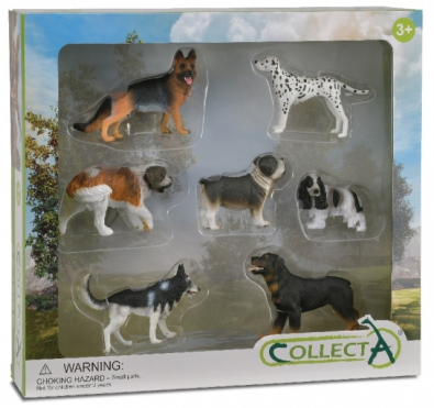 7 pcs Dog and Puddy Boxed Set
