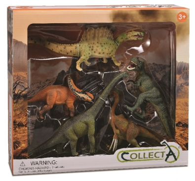 5 pcs Prehistoric Life Boxed Set