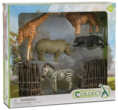 6 pcs Wild Life Boxed Set - 89968