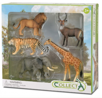 5pcs Wildlife Boxed Set