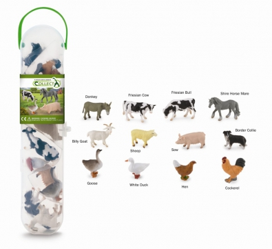 CollectA Box of Mini Farm Animals