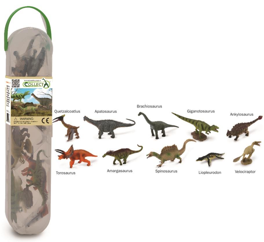 Mini Of The Woodlands >> CollectA Box of Mini Dinosaur - 2 - Collecta Figures: Animal Toys, Dinosaurs, Farm, Wild, Sea ...